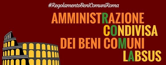 Vogliamo un regolamento per l'amministrazione condivisa anche a Roma. Firma la petizione!