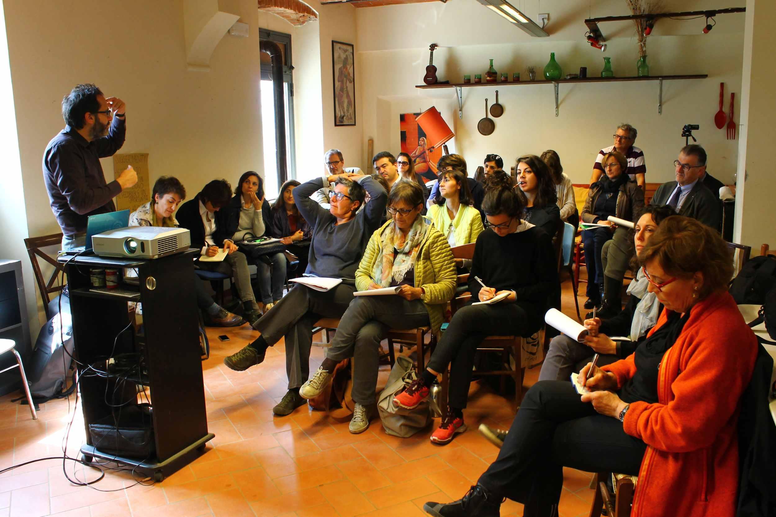 """A Firenze il III modulo Sibec """"Governance e modelli organizzativi"""" (Leggi lo storify)"""