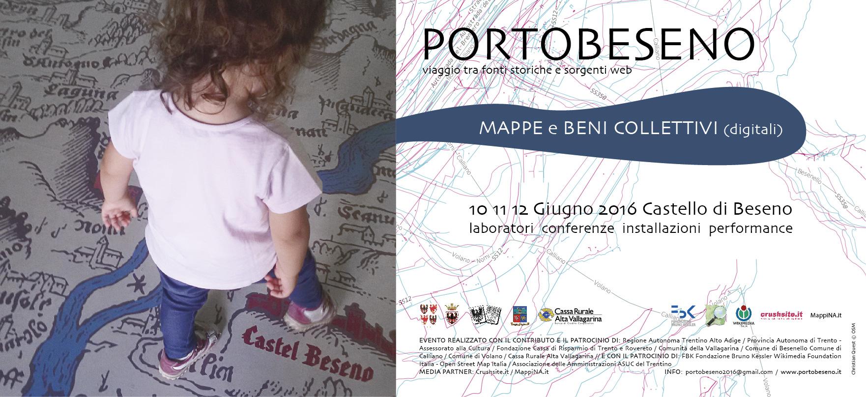 Mappe e beni collettivi (digitali) a Portobeseno 2016