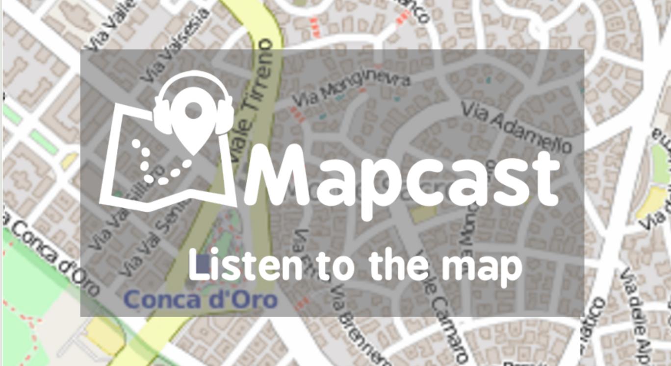 Mapcast, il navigatore turistico partecipato: scoprire luoghi contribuendo alla narrazione