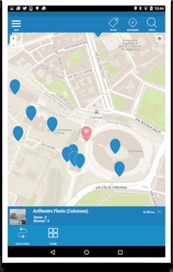 schermata Mapcast