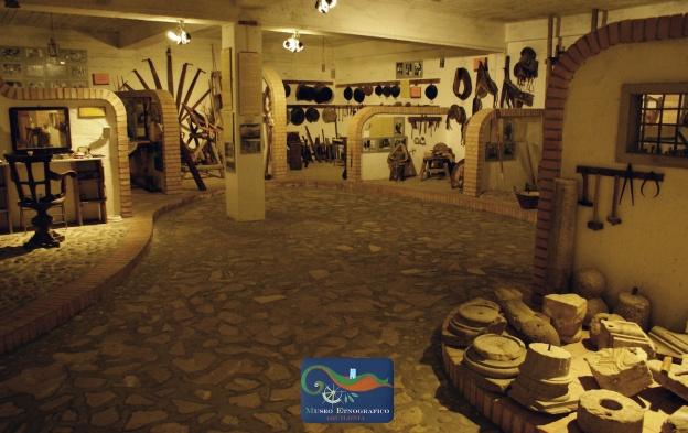 Uno degli ambienti del Museo
