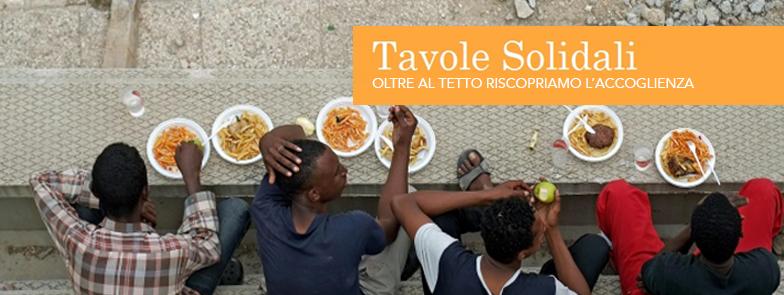 Tavole Solidali: riscoprire il valore dell'accoglienza come bene comune