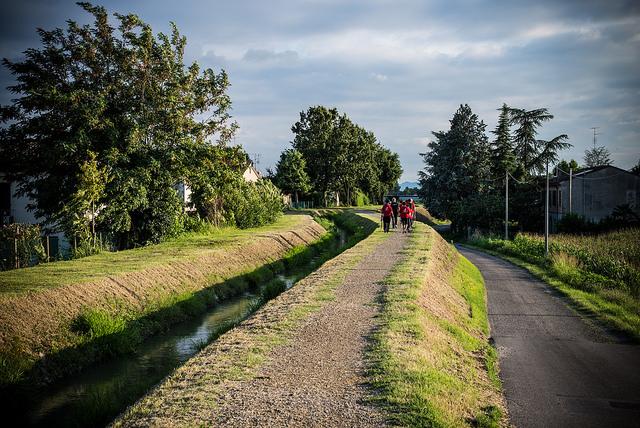 Le piste ciclabili della bassa Romagna, gli open data per un bene comune