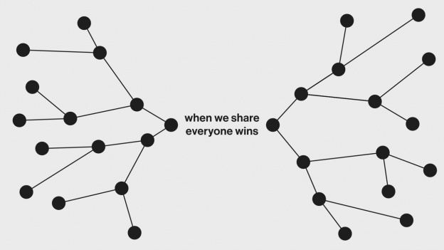 when we share